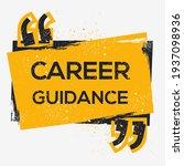 creative sign  career guidance  ... | Shutterstock .eps vector #1937098936