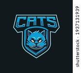 cats mascot logo design... | Shutterstock .eps vector #1937131939