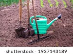 Old  Retro Garden Tools For...