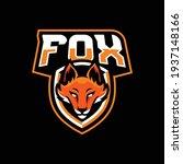 fox mascot logo design... | Shutterstock .eps vector #1937148166