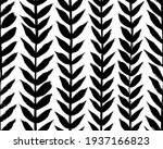 vertical olive leaves borders ... | Shutterstock .eps vector #1937166823