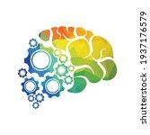 technical human gears brain...   Shutterstock .eps vector #1937176579