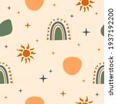 seamless pattern background.... | Shutterstock .eps vector #1937192200