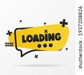 original inscription loading on ... | Shutterstock .eps vector #1937208826