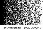 the pixels are scattered ... | Shutterstock .eps vector #1937209243