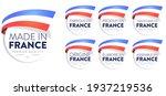 Set Badge Logotype Of Made In...