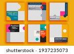 set of sale banner template...   Shutterstock .eps vector #1937235073