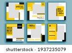 set of sale banner template...   Shutterstock .eps vector #1937235079