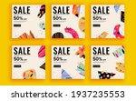 set of sale banner template... | Shutterstock .eps vector #1937235553