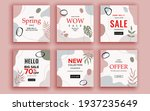 set of sale banner template... | Shutterstock .eps vector #1937235649