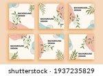 set of sale banner template... | Shutterstock .eps vector #1937235829