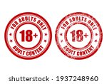 adult only sign   age... | Shutterstock .eps vector #1937248960
