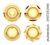 golden medal and emblem ... | Shutterstock .eps vector #1937251540