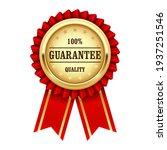 quality guarantee sign  award... | Shutterstock .eps vector #1937251546