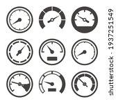 speedometer and dashboard... | Shutterstock .eps vector #1937251549