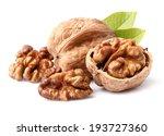 Walnuts In Closeup