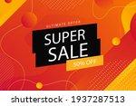 sale background. best sale... | Shutterstock .eps vector #1937287513