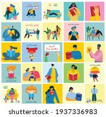 vector concept illustrations of ... | Shutterstock .eps vector #1937336983