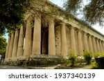 View Of Temple Of Hephaestus...