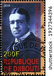 Small photo of Milan, Italy - March 10, 2021: Explorer Ernest Shackleton on postage stamp