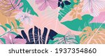 abstract art nature background... | Shutterstock .eps vector #1937354860