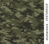 military camouflage vector...   Shutterstock .eps vector #1937359219