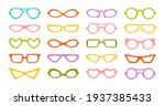 glasses carnival party stylish...   Shutterstock .eps vector #1937385433