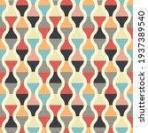 retro seamless pattern design   ... | Shutterstock .eps vector #1937389540