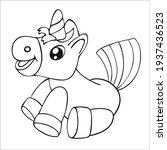 coloring book for children....   Shutterstock .eps vector #1937436523