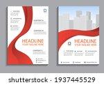 business flyer layout template... | Shutterstock .eps vector #1937445529