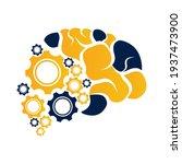 technical human gears brain...   Shutterstock .eps vector #1937473900