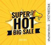 super hot big sale abstract... | Shutterstock .eps vector #1937480266