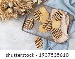 Egg Shaped Shortbread Cookies ...