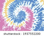 tie dye pattern colorful... | Shutterstock .eps vector #1937552200