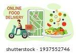 online food delivery service... | Shutterstock .eps vector #1937552746