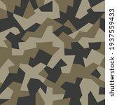brown khaki green geometric... | Shutterstock .eps vector #1937559433