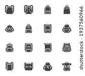 backpack vector icons set ... | Shutterstock .eps vector #1937560966