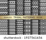 seamless vector tribal pattern. ...   Shutterstock .eps vector #1937561656