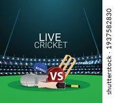 cricket tournament match... | Shutterstock .eps vector #1937582830