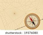 compass. vector. | Shutterstock .eps vector #19376080