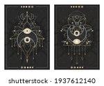 vector dark illustrations with... | Shutterstock .eps vector #1937612140