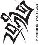 vector symbol  ornament  tattoo.... | Shutterstock .eps vector #1937641006