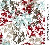 seamless grunge pattern with... | Shutterstock . vector #193766750