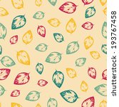 abstract seamless pattern with... | Shutterstock . vector #193767458