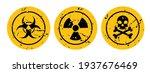 warning sign on white background | Shutterstock .eps vector #1937676469