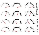 different gauges  meters ...