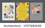 set of modern decorative... | Shutterstock .eps vector #1937682640