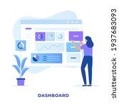 website admin dashboard design...