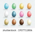 easter eggs vector element... | Shutterstock .eps vector #1937711806