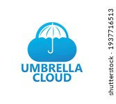 umbrella cloud logo template...   Shutterstock .eps vector #1937716513